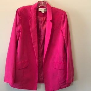 Forever 21 Pink Blazer! Size S